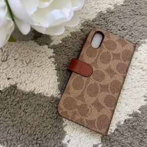 COPY - Coach wallet case. For iPhone X/ XS
